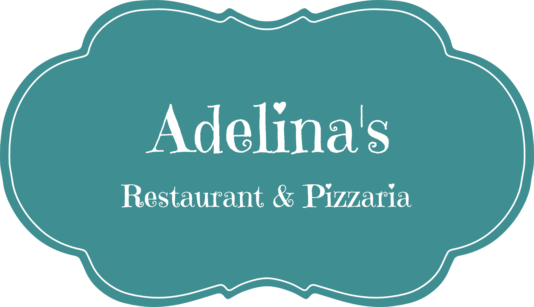 Adelina's restaurant and pizzaria logo